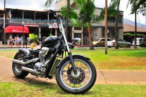 motorcycle in hawaii